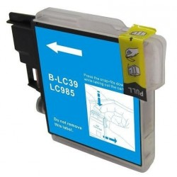 Non-OEM Cyan Ink Cartridge for Brother LC985C