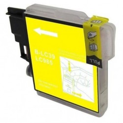 Non-OEM Yellow Ink Cartridge for Brother LC985Y
