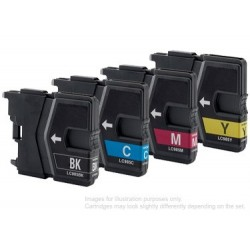 Full Set of Non-OEM Ink Cartridges for Brother LC985