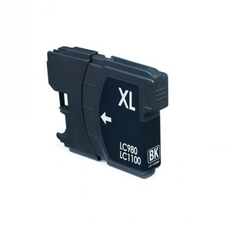 Non-OEM Black Ink Cartridge for Brother LC1100BK