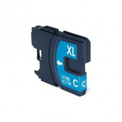 Non-OEM Cyan Ink Cartridge for Brother LC1100C
