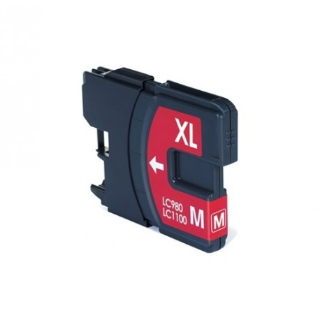 Non-OEM Magenta Ink Cartridge for Brother LC1100M