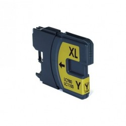 Non-OEM Yellow Ink Cartridge for Brother LC1100Y