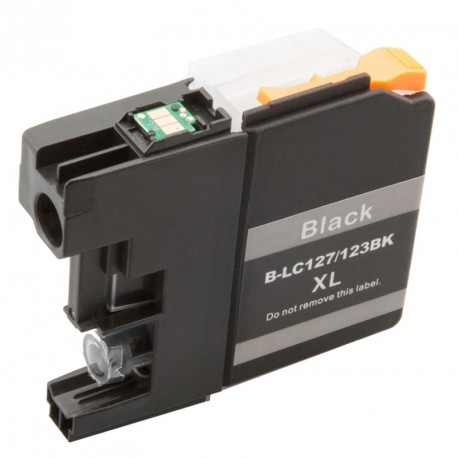 Non-OEM Black Ink Cartridge for Brother LC123BK