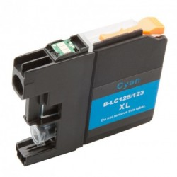 Non-OEM Cyan Ink Cartridge for Brother LC123C
