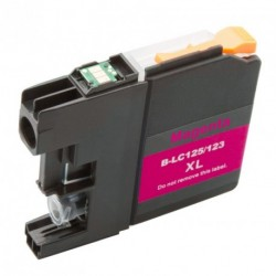 Non-OEM Magenta Ink Cartridge for Brother LC123M