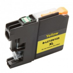 Non-OEM Yellow Ink Cartridge for Brother LC123Y