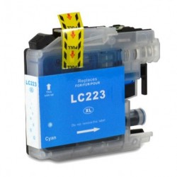Non-OEM Cyan Ink Cartridge for Brother LC223C