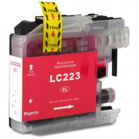 Non-OEM Magenta Ink Cartridge for Brother LC223M