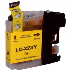 Non-OEM Yellow Ink Cartridge for Brother LC223Y