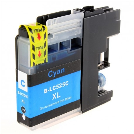 Non-OEM Cyan Ink Cartridge for Brother LC525C