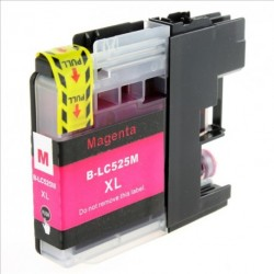 Non-OEM Magenta Ink Cartridge for Brother LC525M