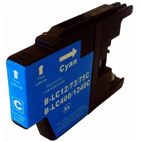 Non-OEM Cyan Ink Cartridge for Brother LC1240C