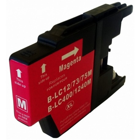 Non-OEM Magenta Ink Cartridge for Brother LC1240M