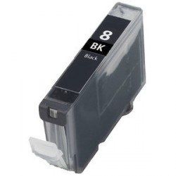 Non-OEM Black Ink Cartridge for CANON CLI-8BK