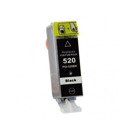 Non-OEM Black Ink Cartridge for CANON PGI-520BK
