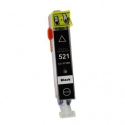 Non-OEM Black Ink Cartridge for CANON CLI-521BK