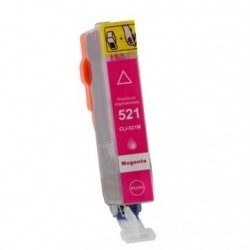 Non-OEM Magenta Ink Cartridge for CANON CLI-521M