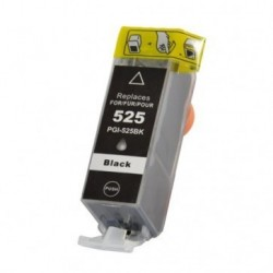 Non-OEM Black Ink Cartridge for CANON PGI-525BK