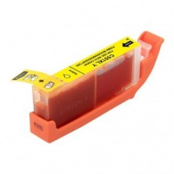 Non-OEM Yellow Ink Cartridge for CANON CLI-551Y