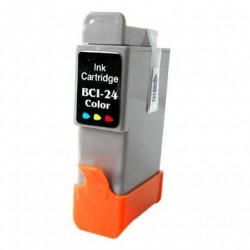 Non-OEM Ink Cartridge for CANON BCI-24 Colour