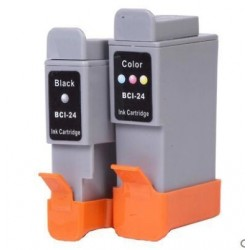 Full Colour Set of Non-OEM Ink Cartridges for CANON BCI-24