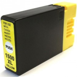 Non-OEM Yellow Ink Cartridge for CANON PGI-1500Y