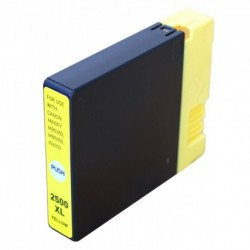 Non-OEM Yellow Ink Cartridge for CANON PGI-2500Y
