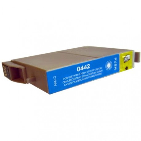 Non-OEM Cyan Ink Cartridge for EPSON T0442
