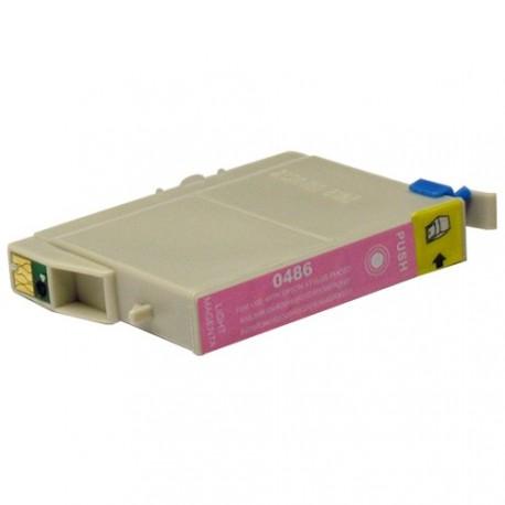 Non-OEM Light Magenta Ink Cartridge for EPSON T0486