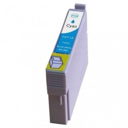 Non-OEM Cyan Ink Cartridge for EPSON T0712