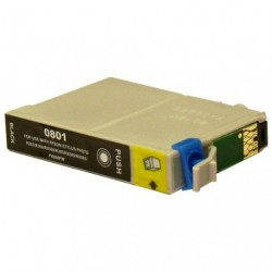 Non-OEM Black Ink Cartridge for EPSON T0801