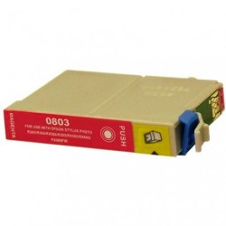 Non-OEM Magenta Ink Cartridge for EPSON T0803