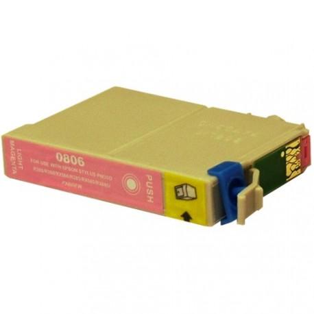Non-OEM Light Magenta Ink Cartridge for EPSON T0806