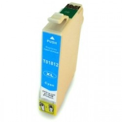 Non-OEM Cyan Ink Cartridge for EPSON T1812