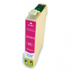 Non-OEM Magenta Ink Cartridge for EPSON T1813