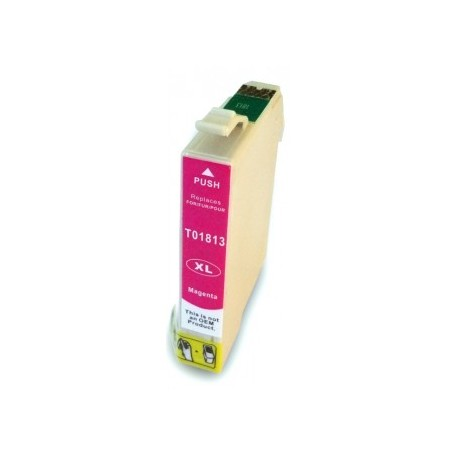 Non-OEM Magenta Ink Cartridge for EPSON T1813