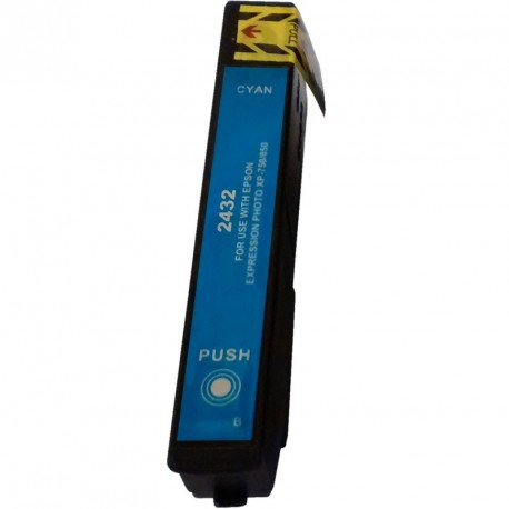 Non-OEM Cyan Ink Cartridge for EPSON T2432