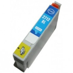 Non-OEM Cyan Ink Cartridge for EPSON T2712