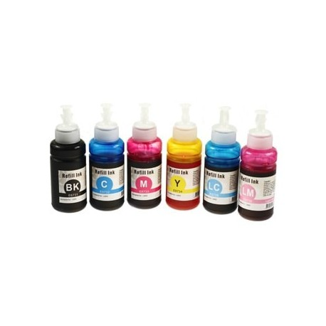 Full Set of Non-OEM Ink Bottles for EPSON T6731-T6734
