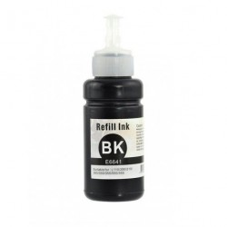 Non-OEM Black Ink Bottle for EPSON T6641