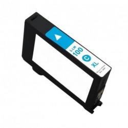 Non-OEM Cyan Ink Cartridge for Lexmark 100XL