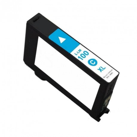 Non-OEM Cyan Ink Cartridge for Lexmark 100XL