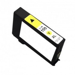 Non-OEM Yellow Ink Cartridge for Lexmark 100XL