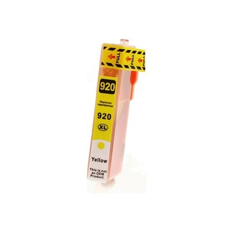 Non-OEM Yellow Ink Cartridge for HP 920XL