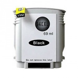 Non-OEM Black Ink Cartridge for HP 940XL