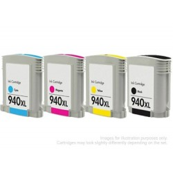 Full Set of Non-OEM Ink Cartridges for HP 940XL