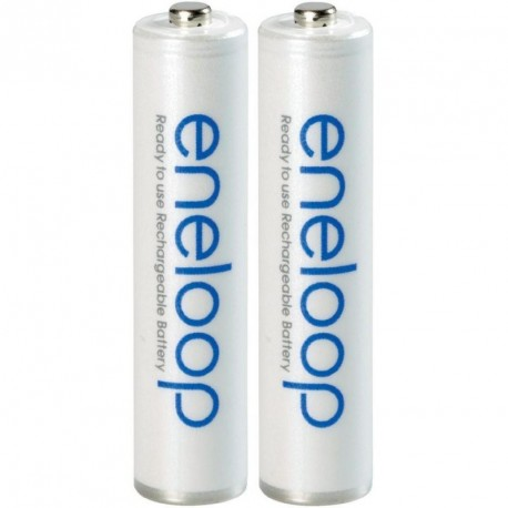 2 x Rechargeable Batteries Panasonic ENELOOP AAA (800mAh)