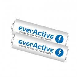 2 x Rechargeable Batteries EVERACTIVE AA (2500mAh)