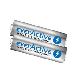 2 x Rechargeable Batteries EVERACTIVE AA (1900mAh)